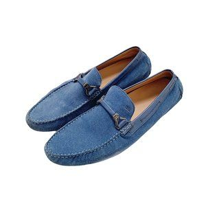 Hugo Boss Suede Driving Loafers